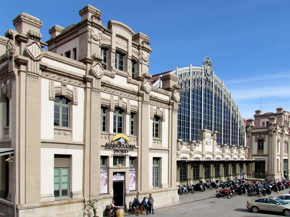 Estación Barcelona Norte