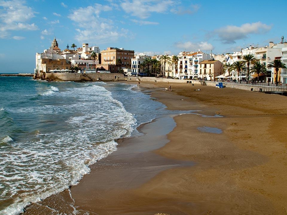 playas en Sitges