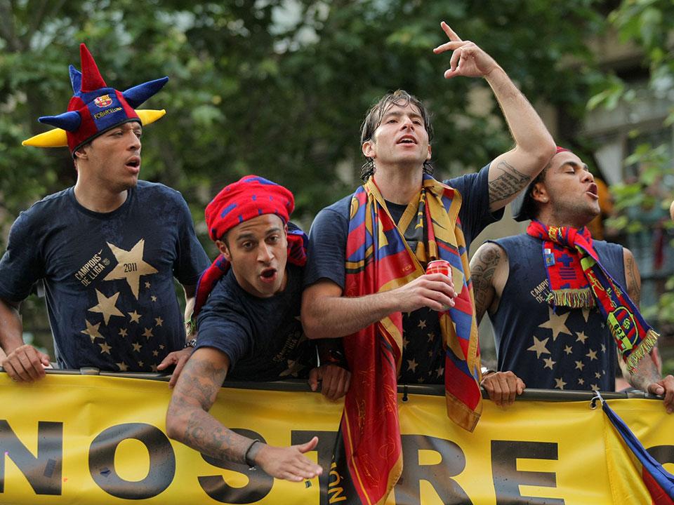 Vivir los éxitos del Barça en el Camp Nou