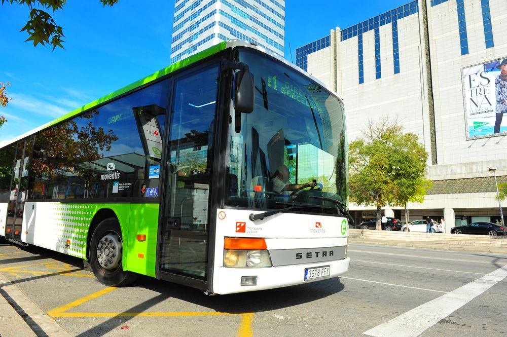 línea de autobús E3 de Moventis Sarbus con recorrido Barcelona - UAB