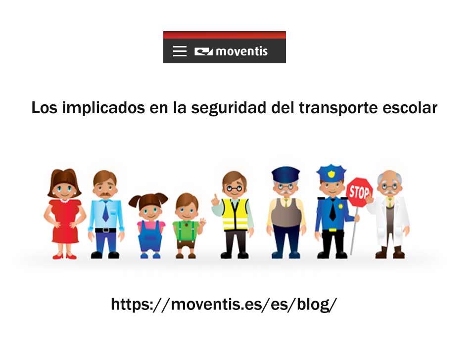 Los implicados en la seguridad en el transporte escolar