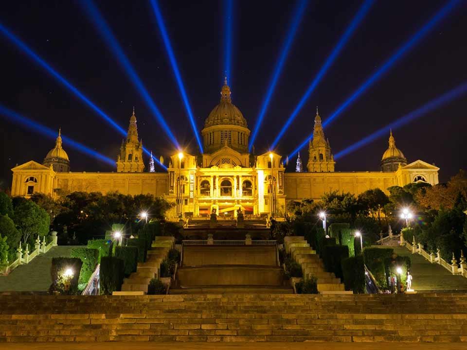 Museo de Arte de Cataluña - noche