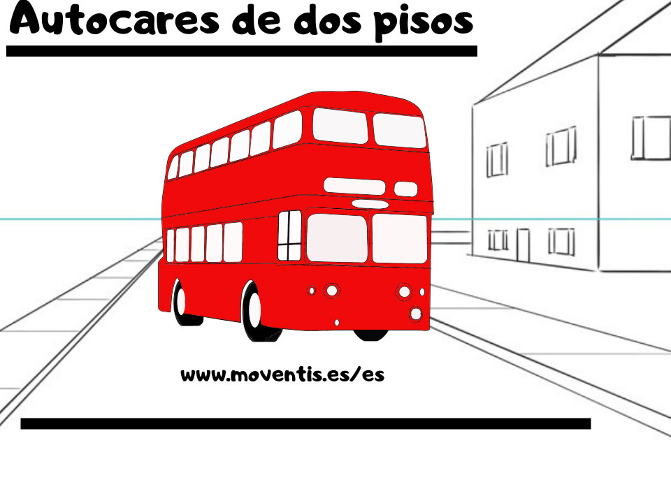 La comodidad de un autocar de dos pisos