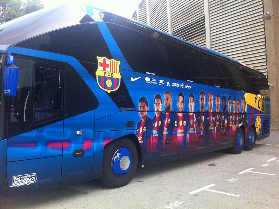 bus de barcelona fc bus de barcelona fc