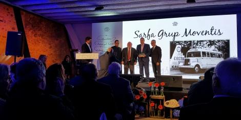 Moventis Sarfa guardonada als premis Passió pel Turisme 2016