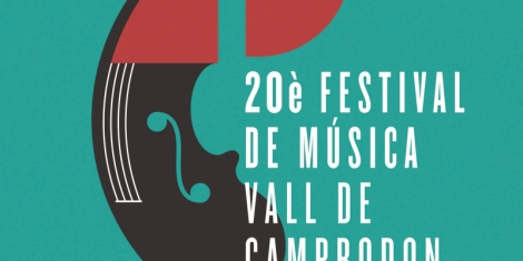 Cartel Festival Música Valle de Camprodon
