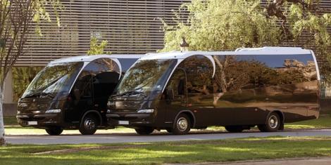 Moventis con sus autobuses de lujo con conductor